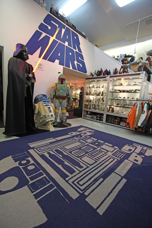 Rancho Obi-Wan's R2-D2 Rug