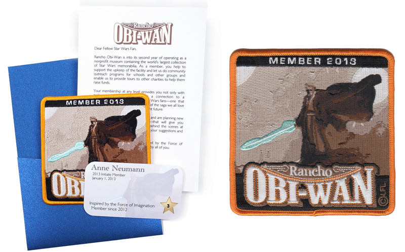 2013 Rancho Obi-Wan Membership Welcome Kit
