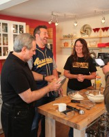 Joey Fatone hosts &quot;My Family Recipe Rocks&quot; at ROW