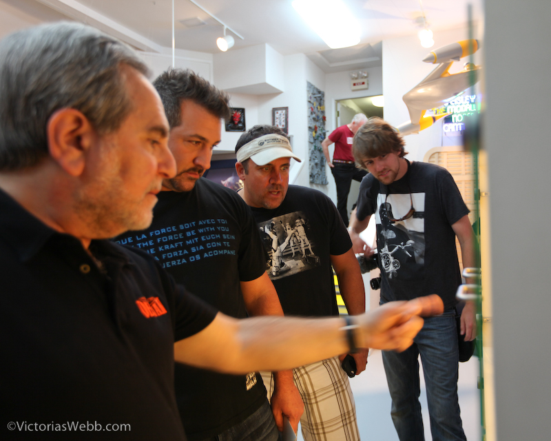 Steve give Joey Fatone and Crew a Tour of the Museum