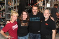 Team ROW with Joey Fatone
