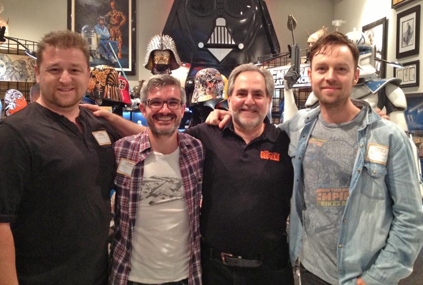 Troy, Richard, Steve & Darren