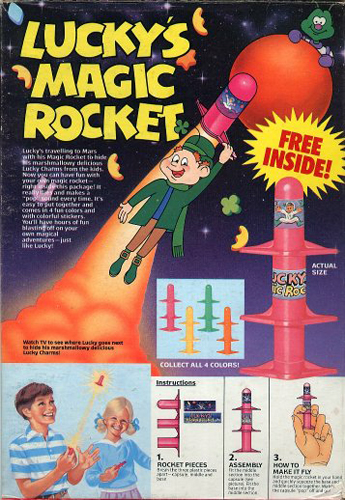 Lucky's Magic Rocket?