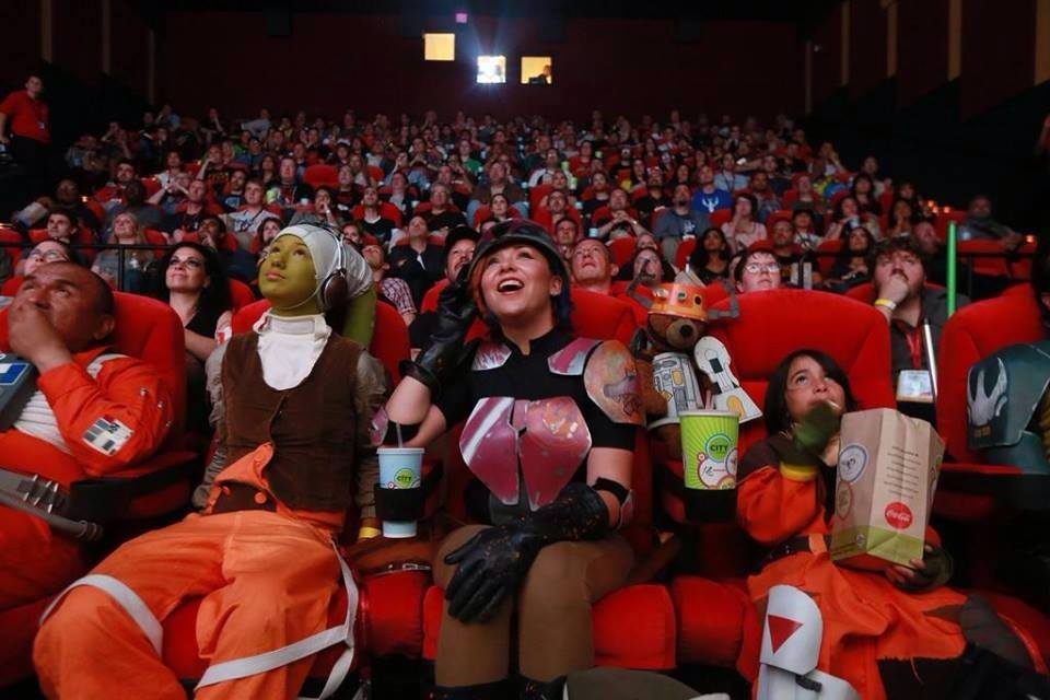 The Star Wars REBELS screening