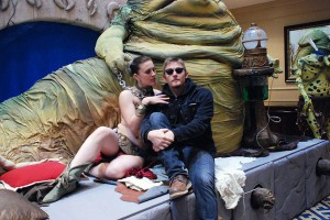 Even The Walking Dead's Norman Reedus relaxes by Jabba at a con