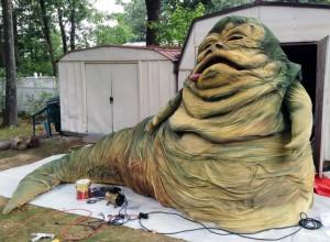 Jabba gets rehabbed