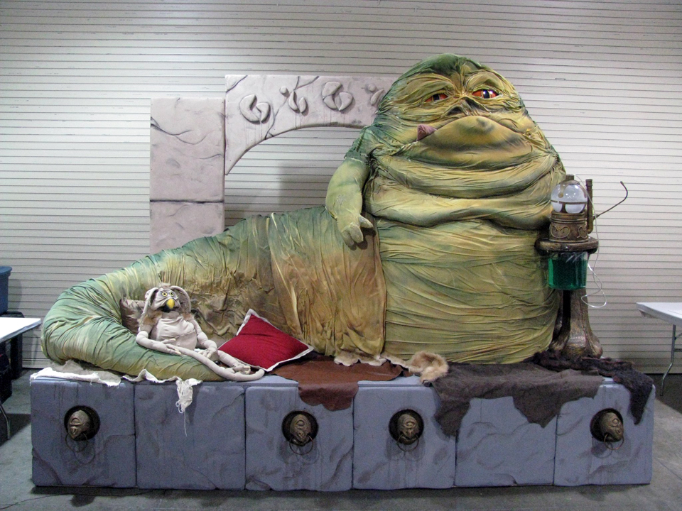 Jabba as he appeared in 2010