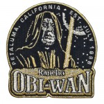 Rancho Obi-Wan Original Gold Patch
