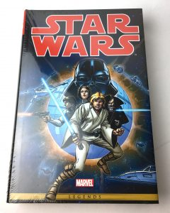 new 1012018 lot 68704 marvel omnibus legends star wars the original marvel years hardcover book donated by brian christensen